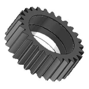Peças para Máquinas de Construção - Engrenagem 27 dentes