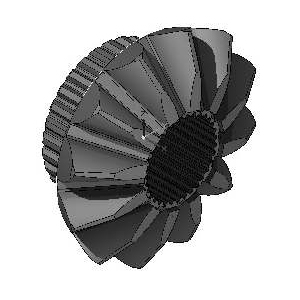 Peças para Máquinas de Construção - Planetária Z=12/33/ 25 Estrias C/ Bloqueio