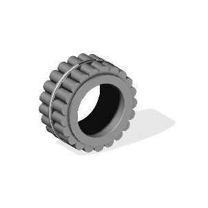 Peças para Máquinas de Construção - Rolamento de Rolos (0735455332)